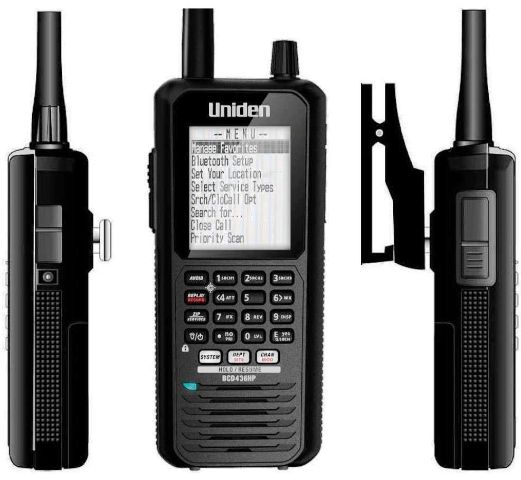 uniden uh850s how to use